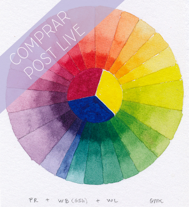 Curso online Color para Ilustración Naturalista I acuarela
